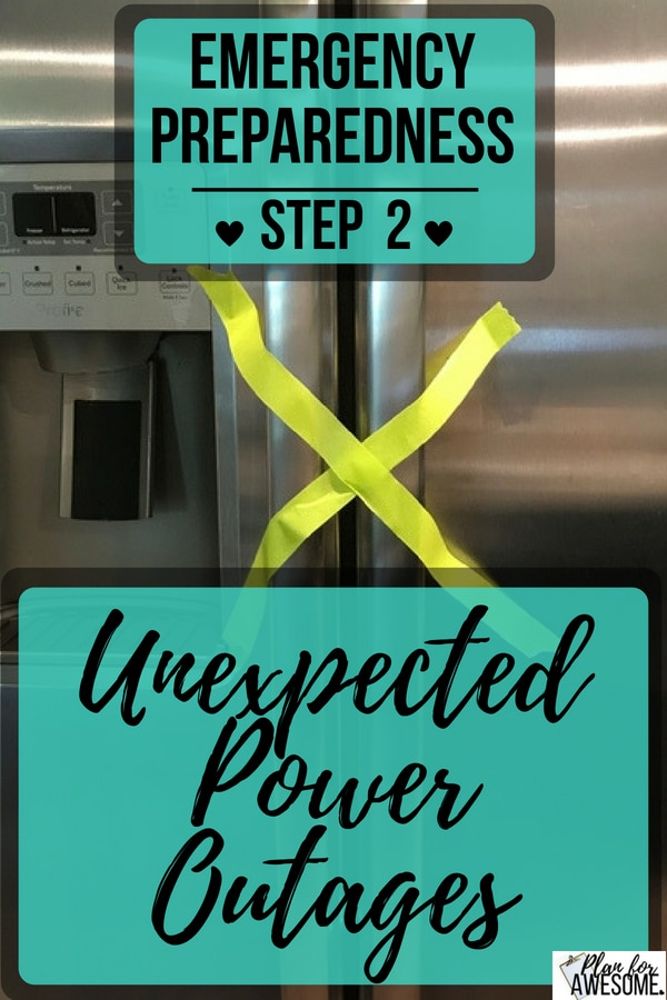 Great resource for preparing for unexpected power outages! Simple things you probably haven't thought about, like guidance on what to do with perishable foods, etc. Realistic and helpful! planforawesome