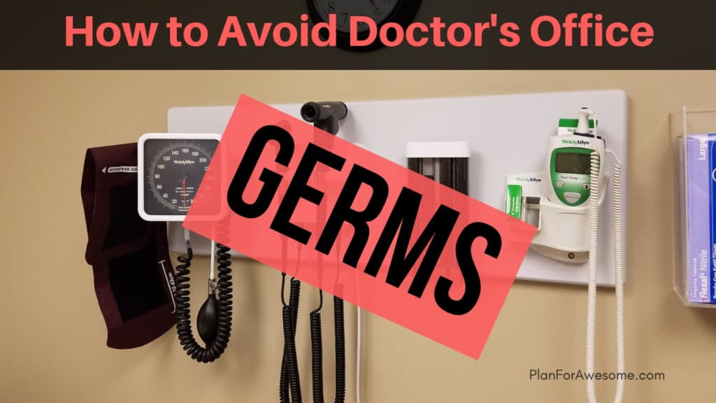 How to Avoid Doctor's Office Germs With Little Kids (Adults Too!) - If you haven't ever considered an online doctor, think again! This article tells you all about it! -PlanForAwesome