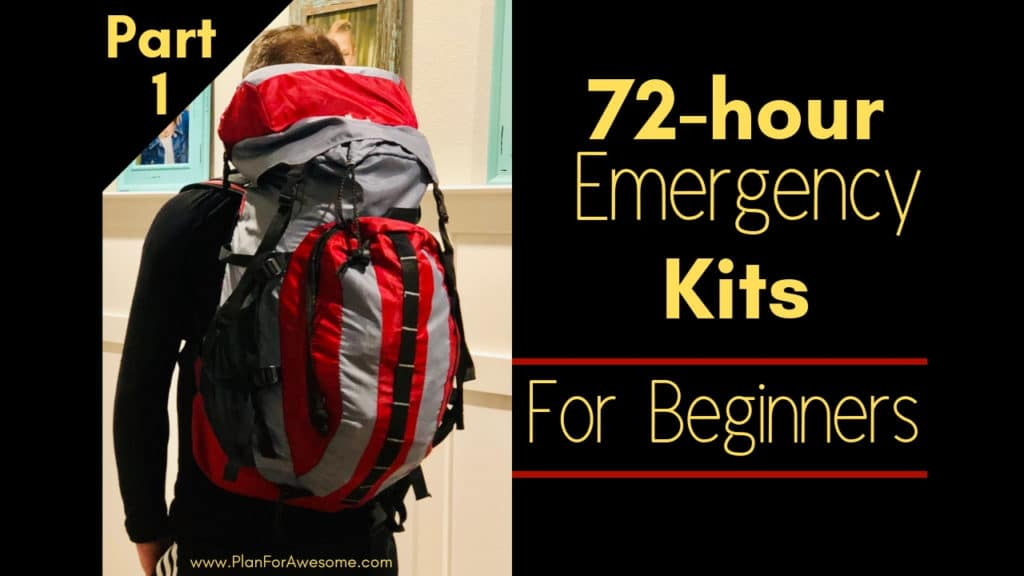 72-hour Emergency Kits for Beginners - A Step-by-Step Guide *Part 1* - TONS of tips for organizing and putting together 72-hour emergency kits. If you are looking for a place to start, START HERE! This website is amazing! -PlanForAwesome