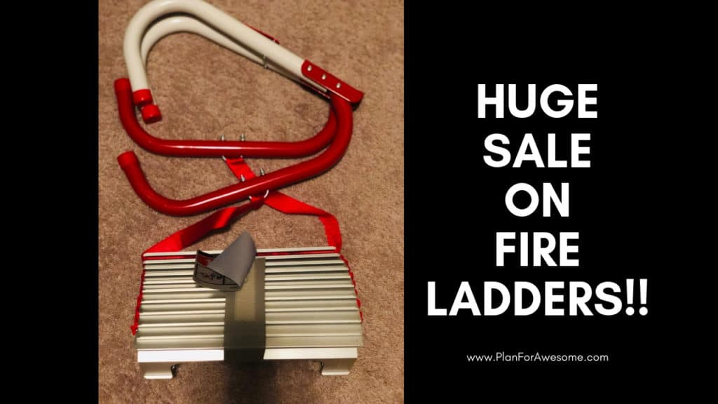 Huge Fire Ladder Sale!! PlanForAwesome