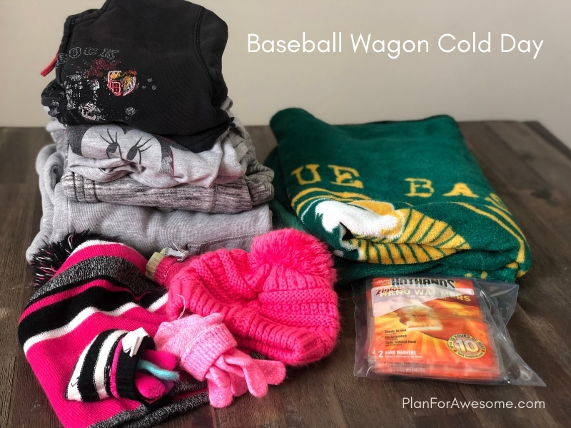 Baseball Wagon: The Ultimate List of Things to Bring to Little League Games - This is the BEST, most comprehensive list I have seen for what to bring to be prepared for baseball game days. This girl covers EVERYTHING, and she even has an adorable free printable checklist!
