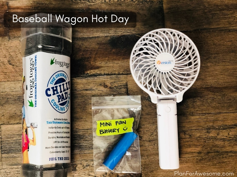 Baseball Wagon: The Ultimate List of Things to Bring to Little League Games - This is the BEST, most comprehensive list I have seen for what to bring to be prepared for baseball game days. This girl covers EVERYTHING, and even has a free printable checklist!