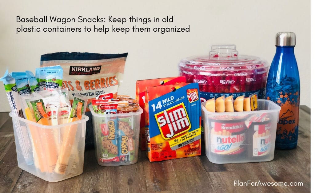 Baseball Wagon: The Ultimate List of Things to Bring on Baseball Game Days- This is the BEST, most comprehensive list I have seen for what to bring to Little League baseball game days. This girl covers EVERYTHING. She even has a cute, organized, and free printable checklist!