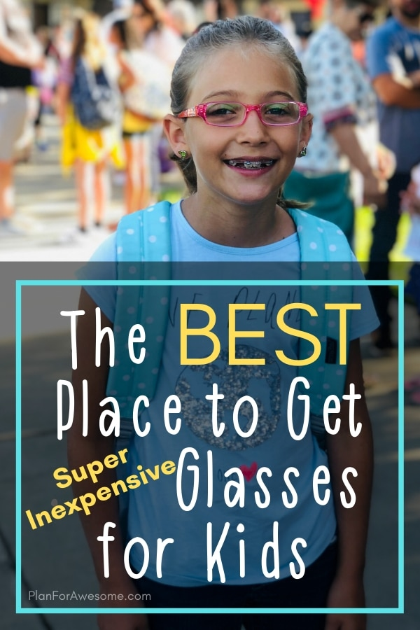These glasses are SO affordable, but still great quality! I love that they are so inexpensive that I can get several pairs for my daughter and not even feel guilty about it! #kidsglasses #kidglasses