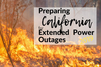 Awesome list for preparing for power outages - I'm using this list to make sure I'm ready for PG&E's planned power outages this fire season 2019 in California!!! #poweroutage #beprepared