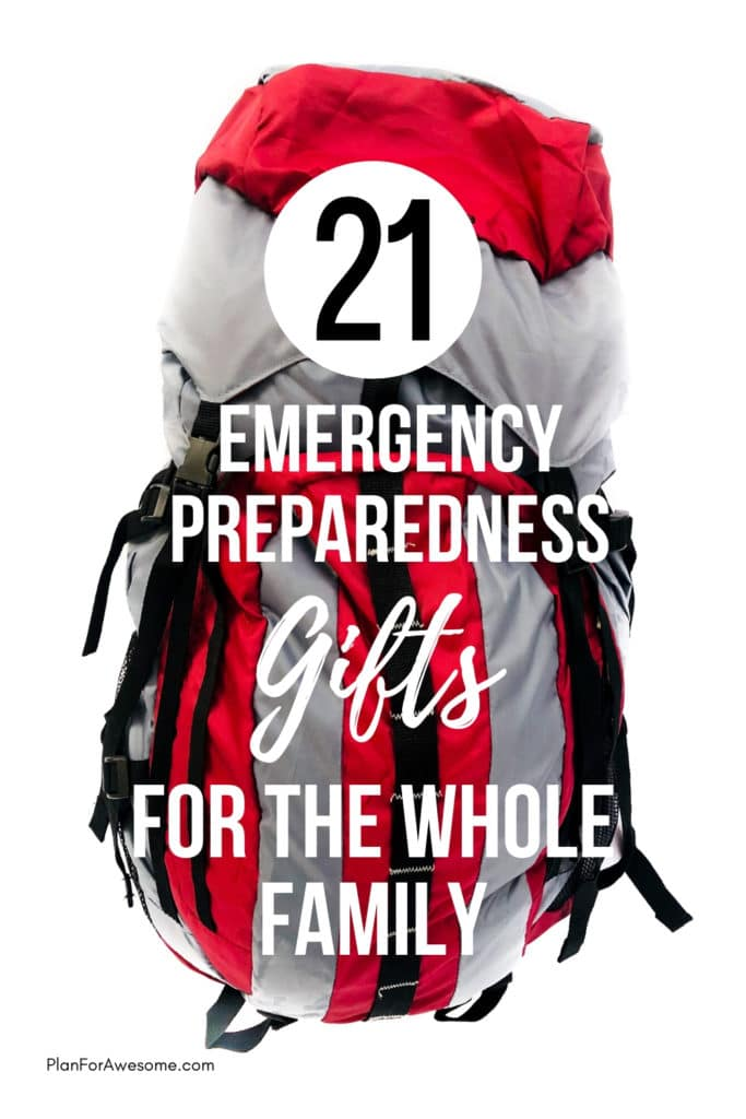 What an awesome list of emergency preparedness gift ideas!  I love the idea of gifting something useful like this to my family.  There are even  some good ideas for little kids that would still be fun and exciting to get as gifts but that can help your family get prepared for emergencies! #holidaygiftguide #christmasgiftideas