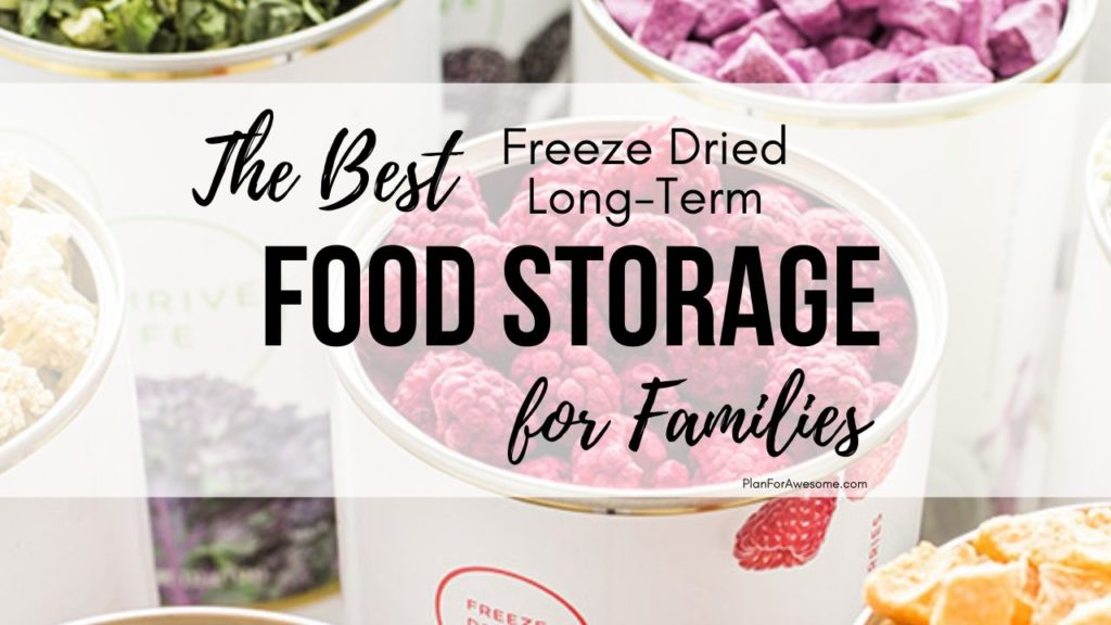 Freeze Dried Long-Term Food Storage - this article was SO HELPFUL, especially since I am trying to get more prepared with the coronavirus! This girl answered all of my questions about long-term food storage, what the difference is between freeze dried and dehydrated food, what the best deals are, etc! #foodstorage #longtermfoodstorage #coronavirus