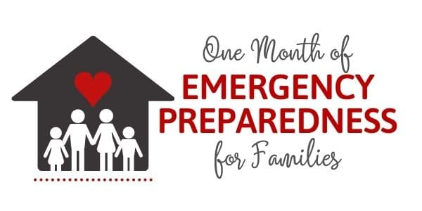 Emergency Preparedness Challenge for Families - Logo